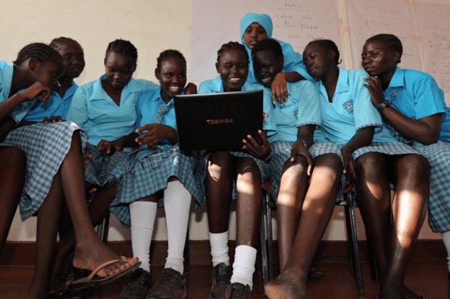 Morneau_Shepell_Secondary_School_Girls_kenya